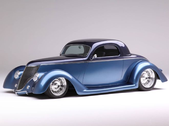 1936 Ford Coupe Is Chip Foose Designed Amp Handformed In Metal By Marcel De Lay American Classic
